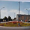 Brive 2 - Rond point du pont Cardinal - datée 1970