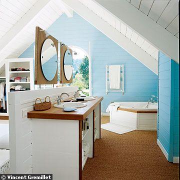 salle de bain lumineuse photo de carnets de d coration. Black Bedroom Furniture Sets. Home Design Ideas