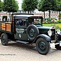 La peugeot 201 t camionnette de 1929 (9ème classic gala de schwetzingen 2011)