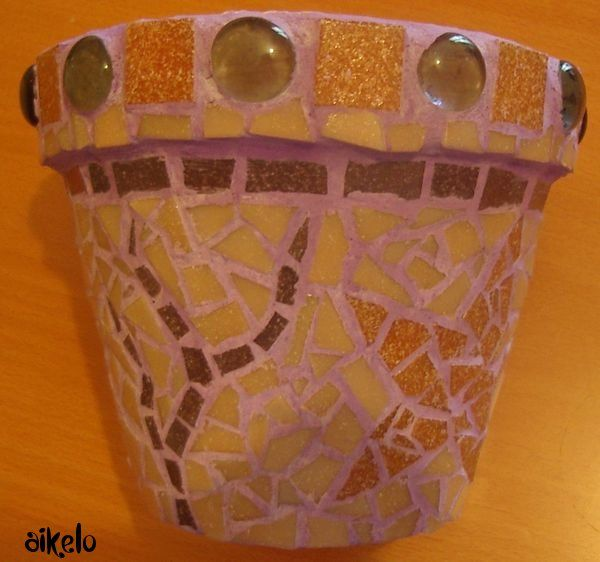 Pot mosaique (2)