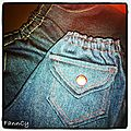 Micro-jean's et micro-t-shirt