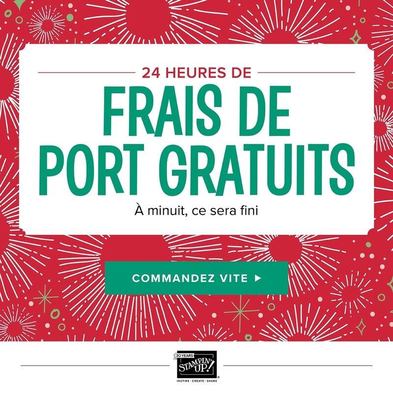 FRAIS DE PORT GRATUIT