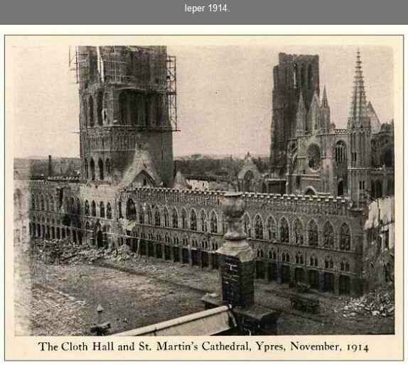 Ypres1914 St Martin Cathedral