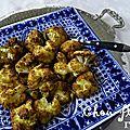 Chou-fleur rôti aux épices du maghreb