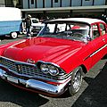 Plymouth belvedere 4door sedan-1959