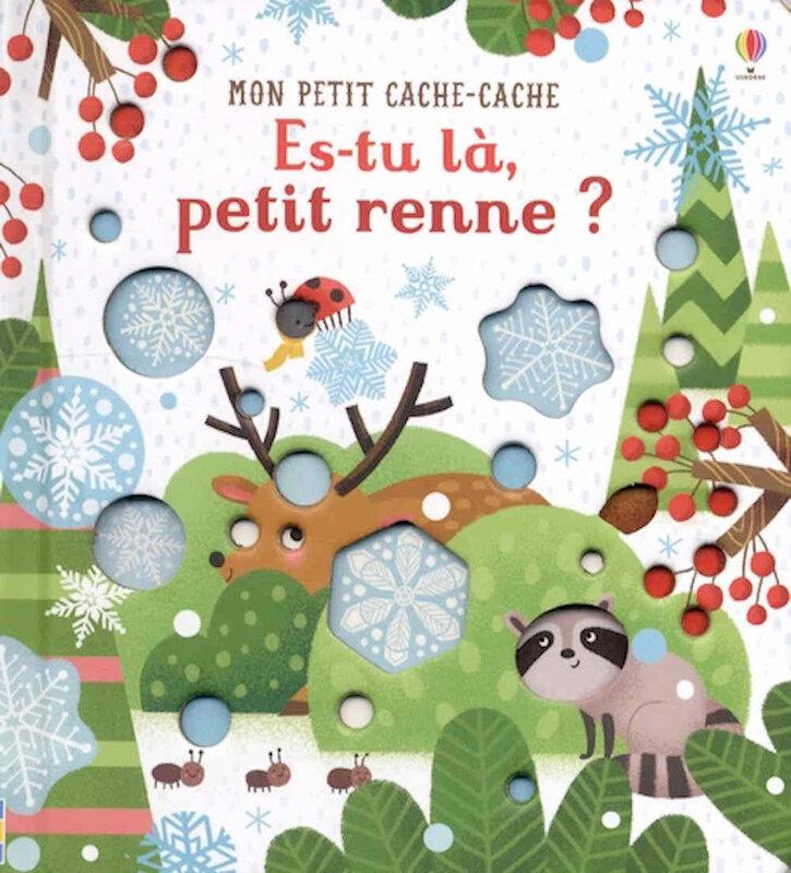Livre de Noël : Es-tu là, petit renne ? de Sam TAPLIN t Essi KIMPIMAKI