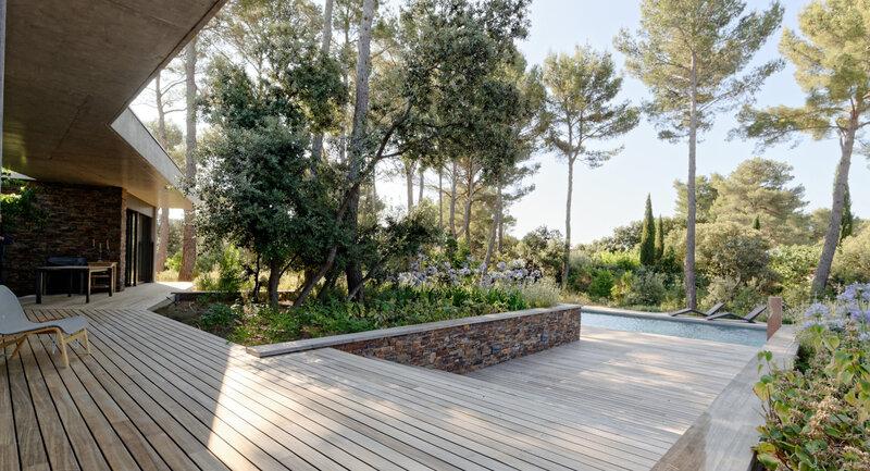maison contemporaine Aix en Provence - architecte