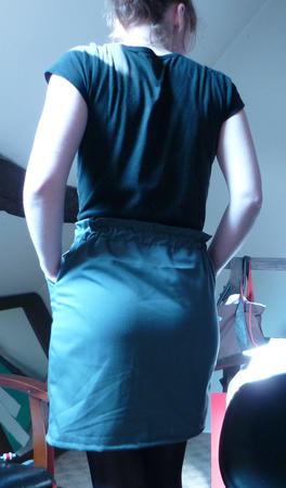 The grey skirt 5