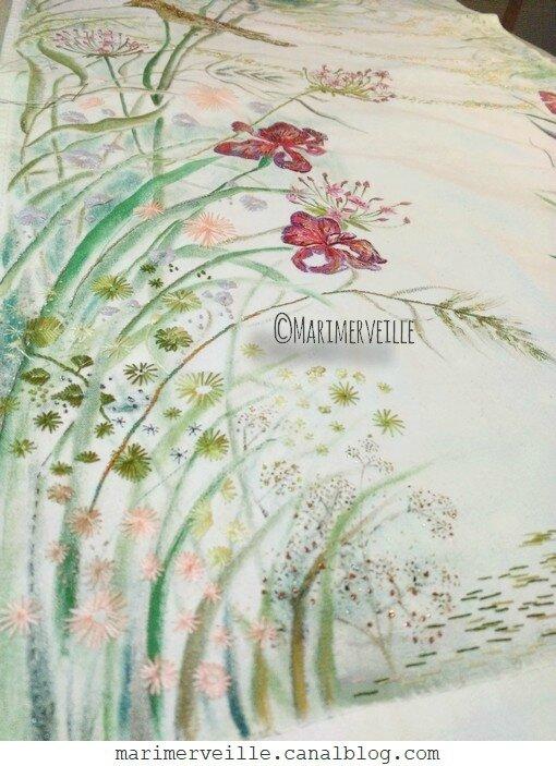 Broderie Marimerveille - en cours herbes folles 4