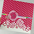 Blog hop international - papiers 15*15cm in color