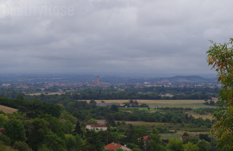 vue de Castelnau de Lévis