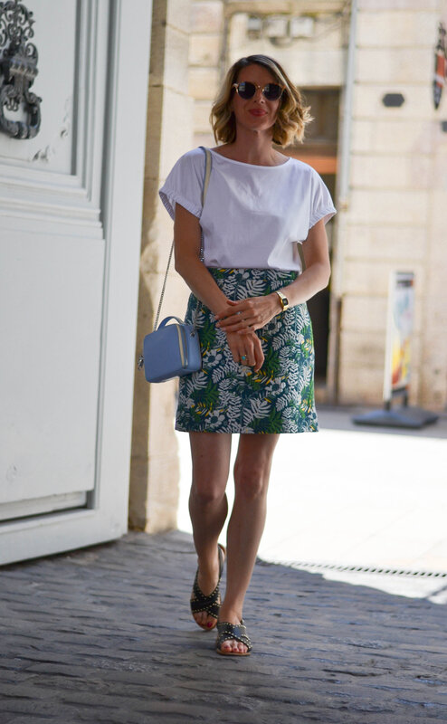 blue bag and print skirt - styliz (16)