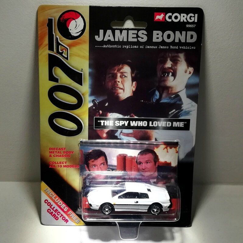 Lotus Esprit S1 (Collection James Bond) Corgi 02