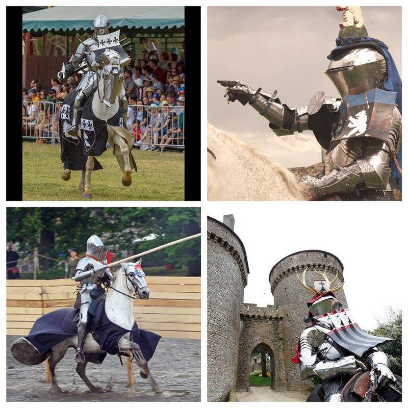 tournoi présentation des chevaliers