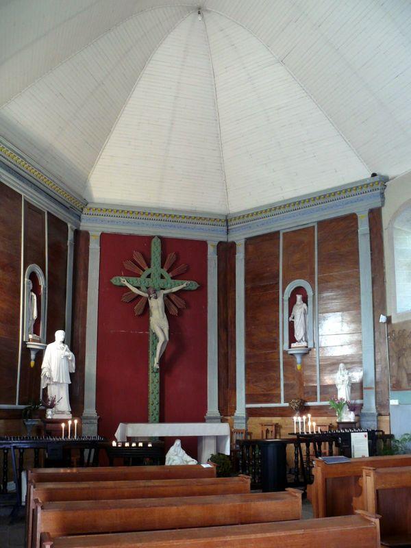 Pontchâteau, Calvaire de la Madeleine, intérieur de la Chapelle du Calvaire