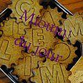 Biscuits à la camomille