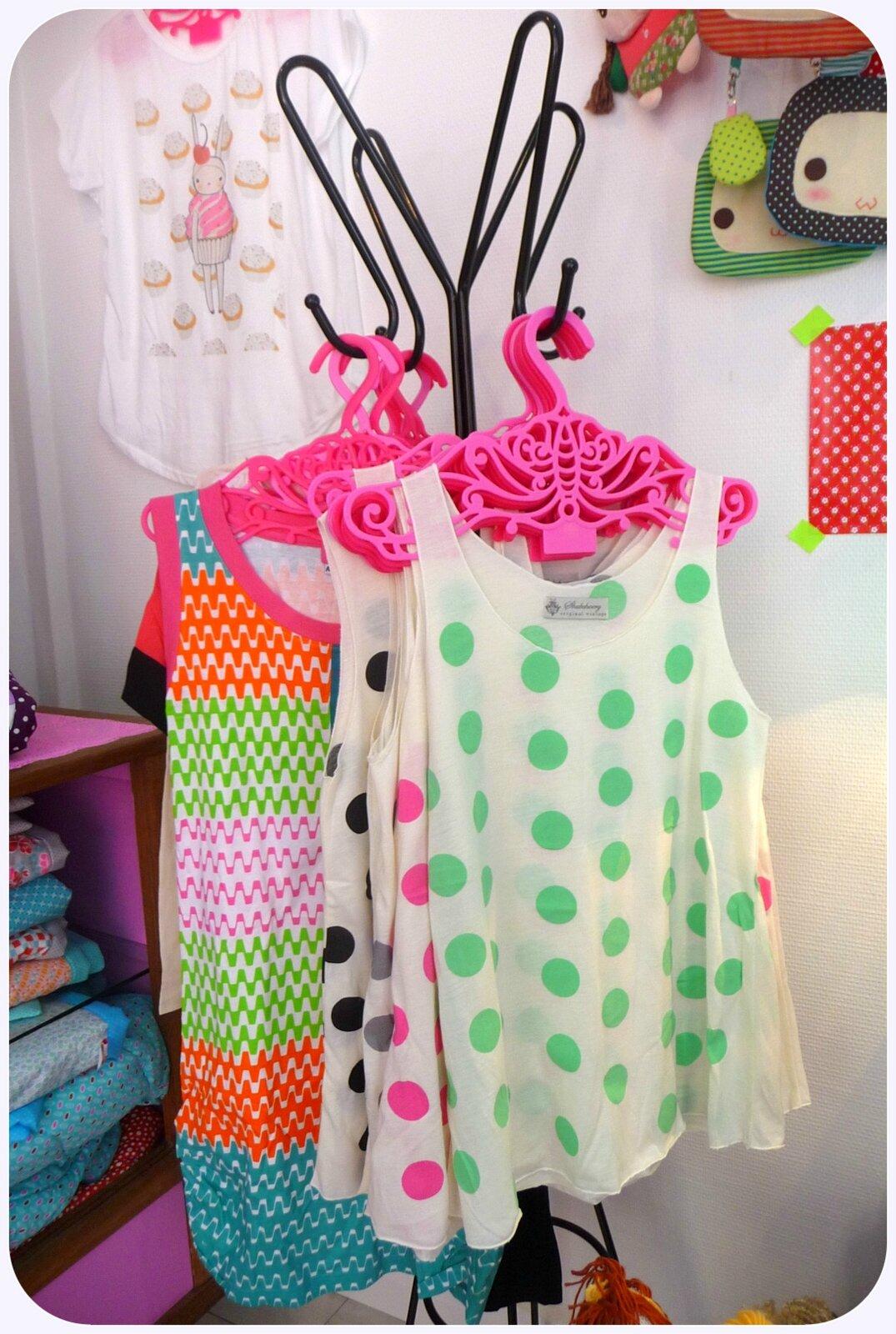 sélection de vêtements
