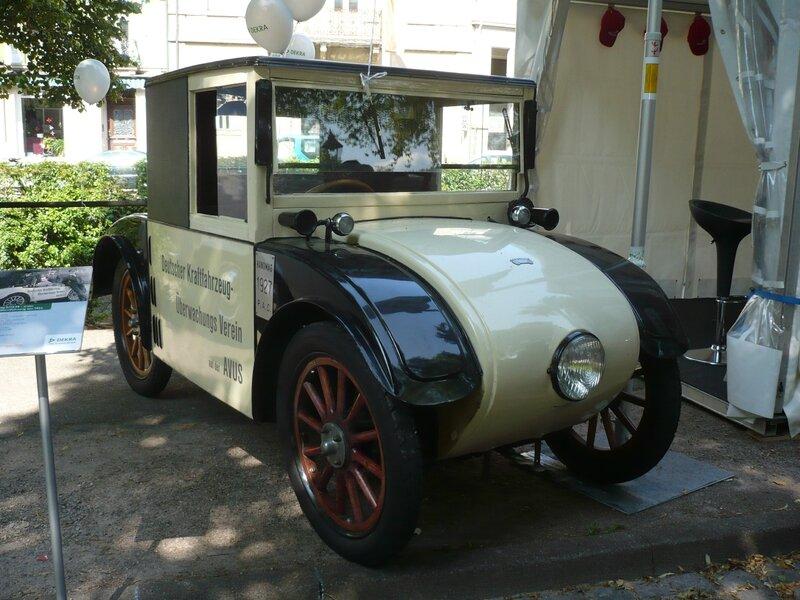 HANOMAG 2-10 PS Kommissbrot 1925 Baden Baden (1)