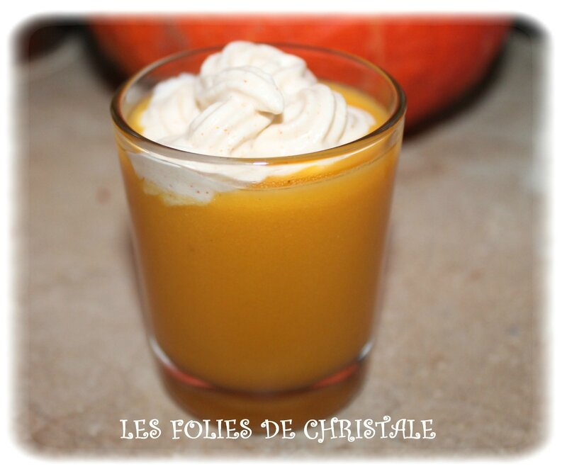 Cappuccino potiron 1