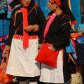 Les minorités Yi, Hani et Yao du marché de Nafa
