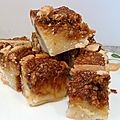 Blondies au caramel beurre salé