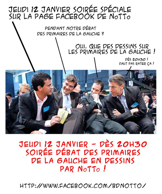 01 - 2017 - Primaires Gauche PUB
