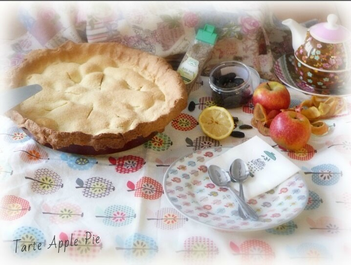tarte Apple pie2