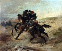 beauquesne-a-battle-scene_1885