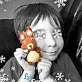 Amigurumi Crochet - Ecureuil pour Lucas - Fait main - LittleCuriosité