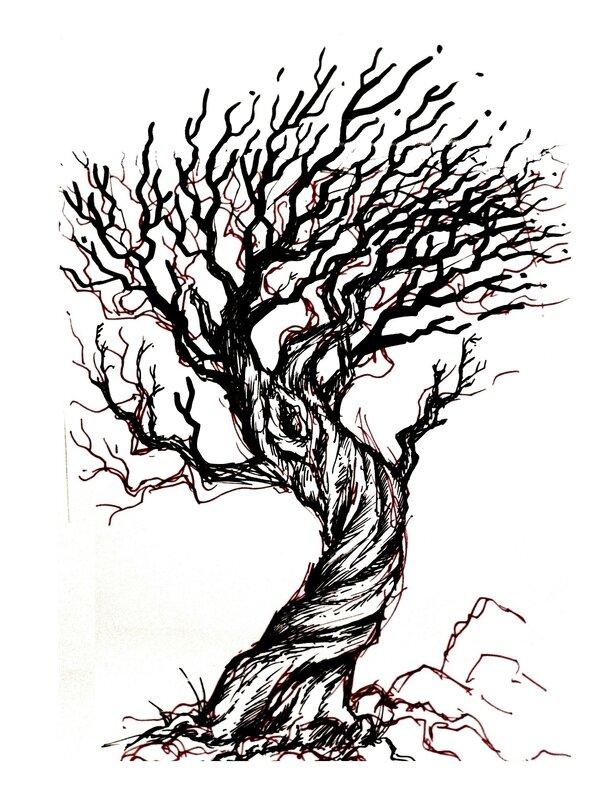 arbre burtonien