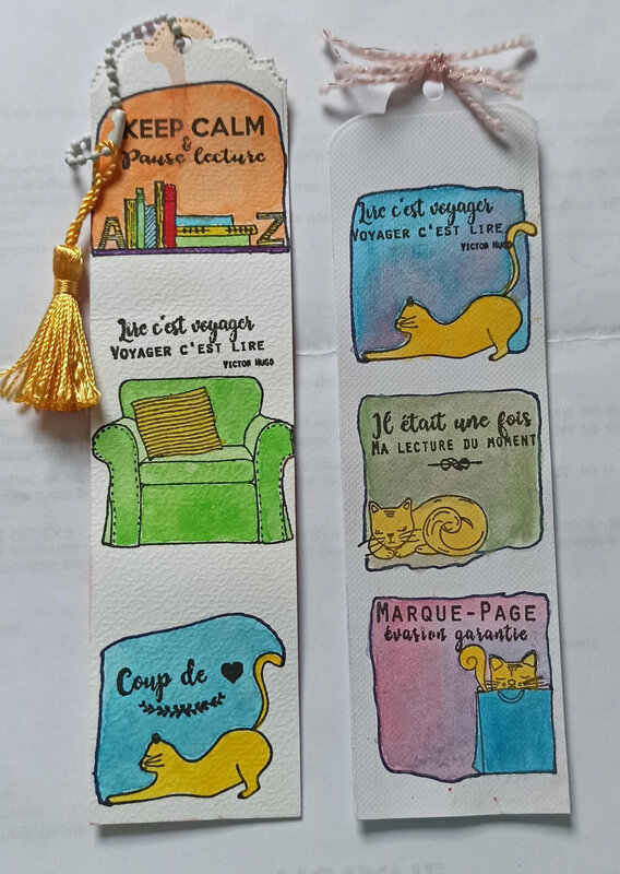 SEMAINE 23 - MARQUE PAGES BY KINNA