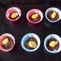 Cupcakes au chocolat et lemon curd