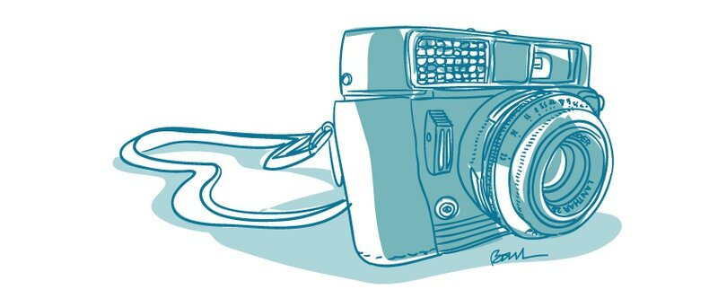 appareil-photo-bleu