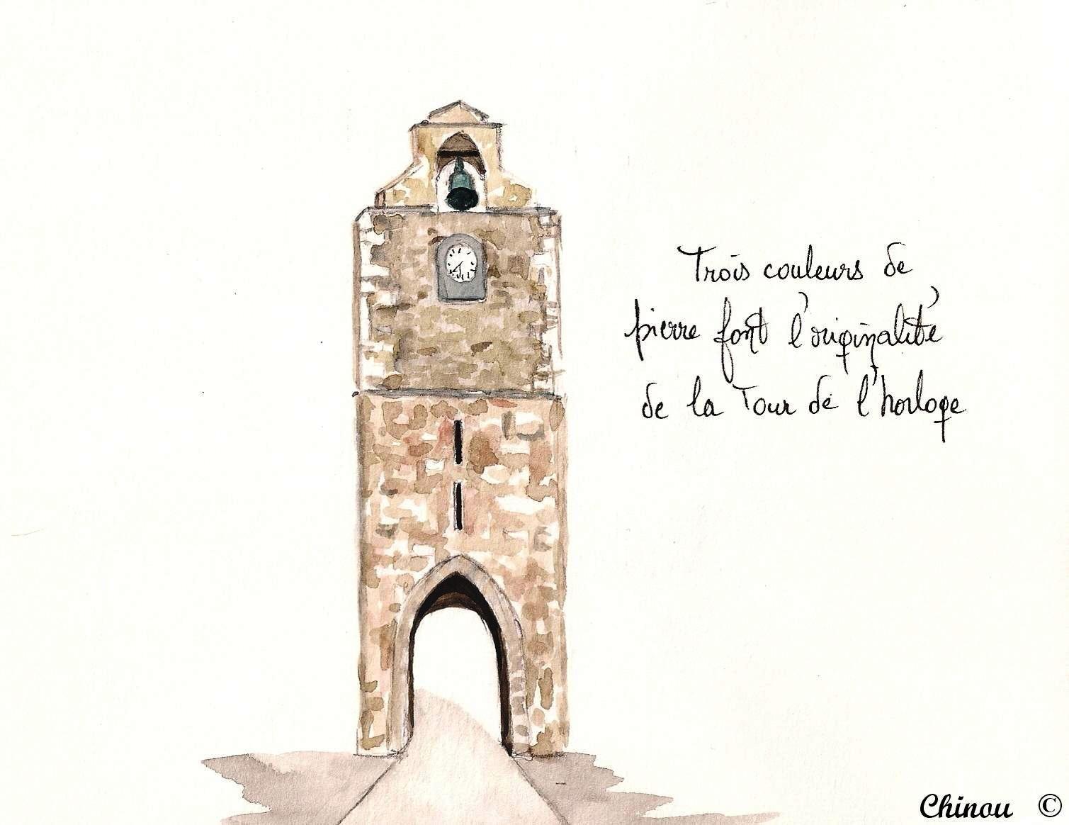 Auriol : Tour de l'horloge