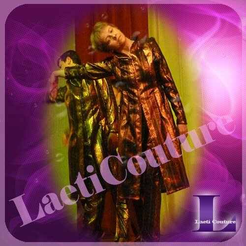 costume danse sassenay ensemble tissus métal