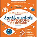 1ère édition de la semaine de la santé mentale à chalon