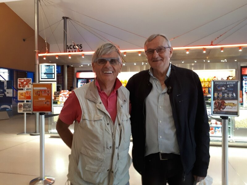 Philippe Gelin et George Collange