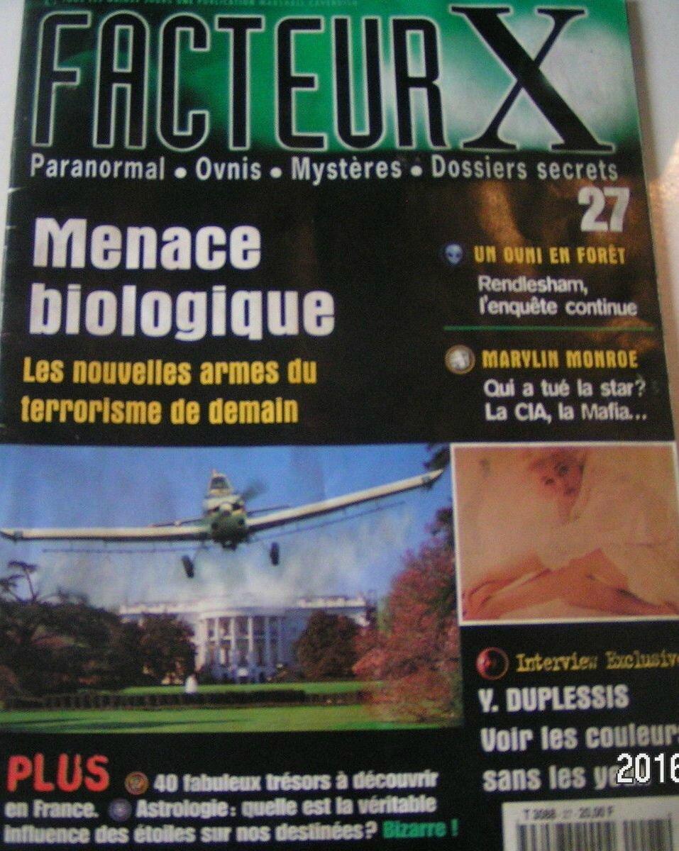 Facteur X (Fr) 1980