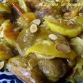 Tajine d'agneau aux fruits
