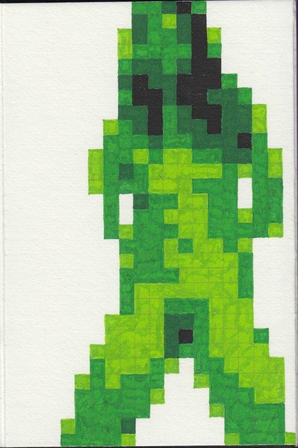 Décadence vert 8