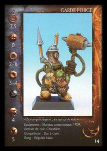 Clan Nain - La Confrérie d'Airain -garde-forge