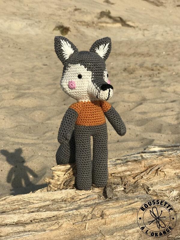 loup crochet
