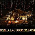 Noël, la mairie de paris scrap digital