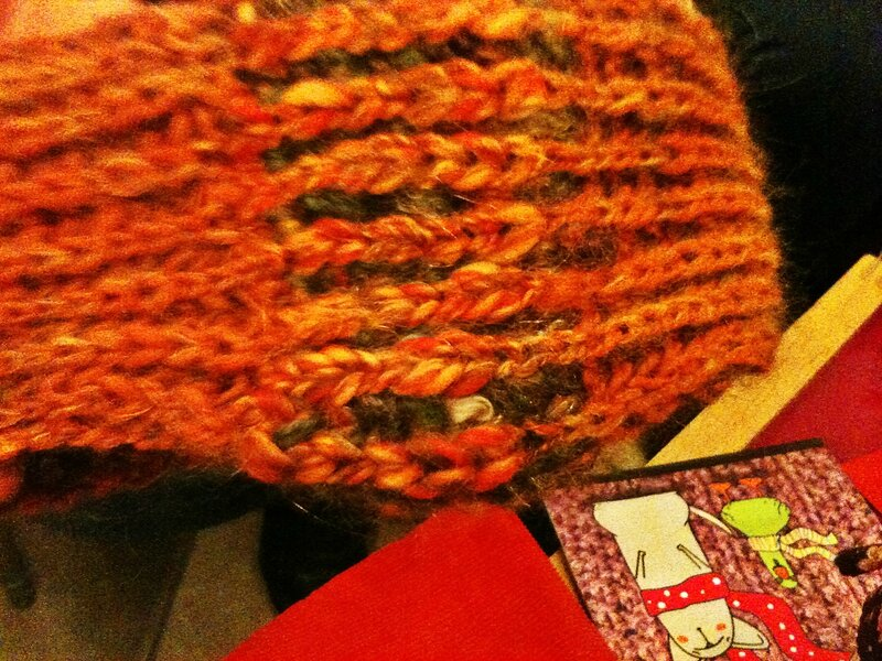 GR 13-12 swap de Noël col brioche