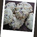 Cookies au schokobons