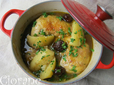 fricassee poulet biere
