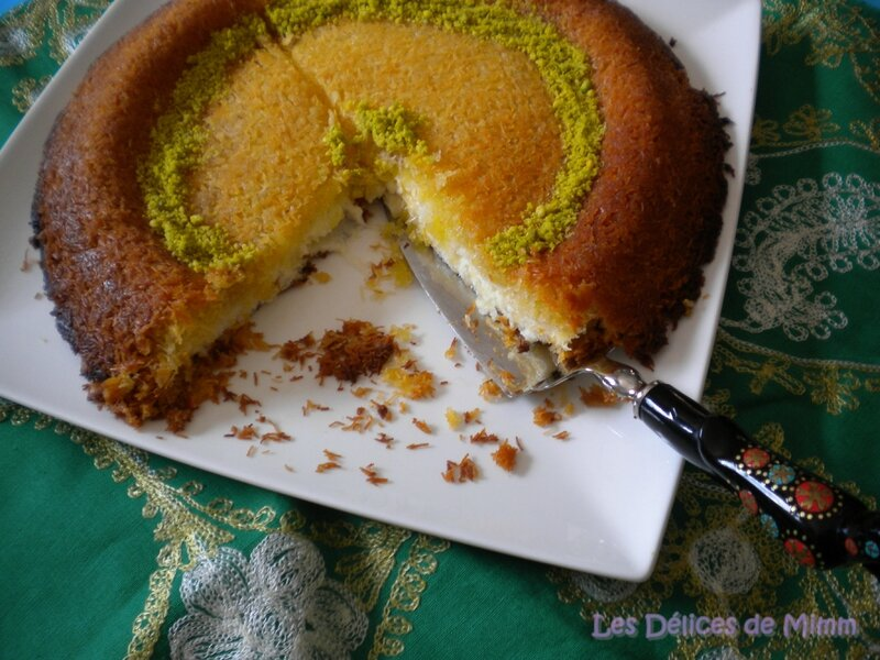 Knafeh (knefeh) ou le cheesecake libanais 6