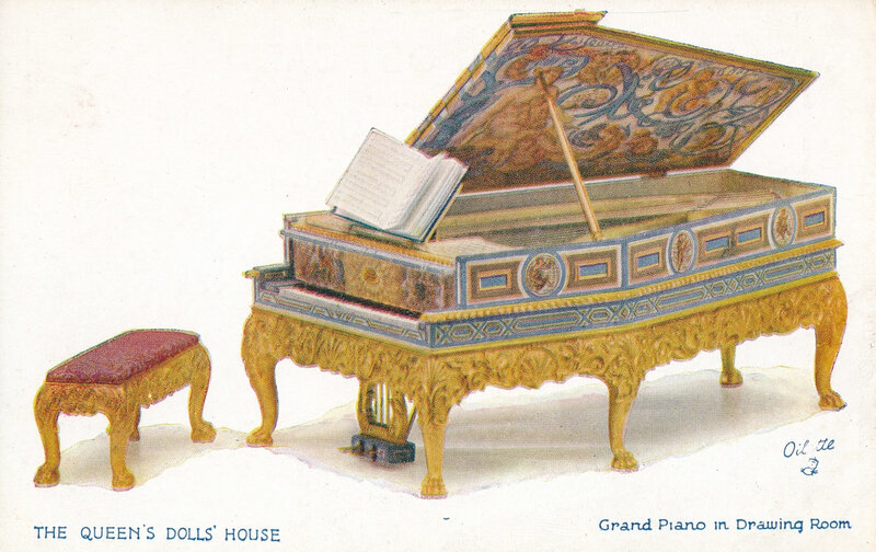 CPM Piano The Queens Dolls House R