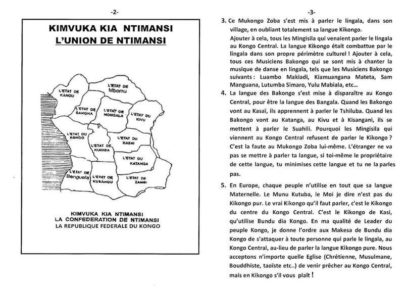 HALTE AUX HALELUYA AMEN AU KONGO CENTRAL b