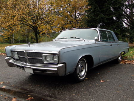 IMPERIAL Crown Hardtop Sedan 1965 Retrorencard 1
